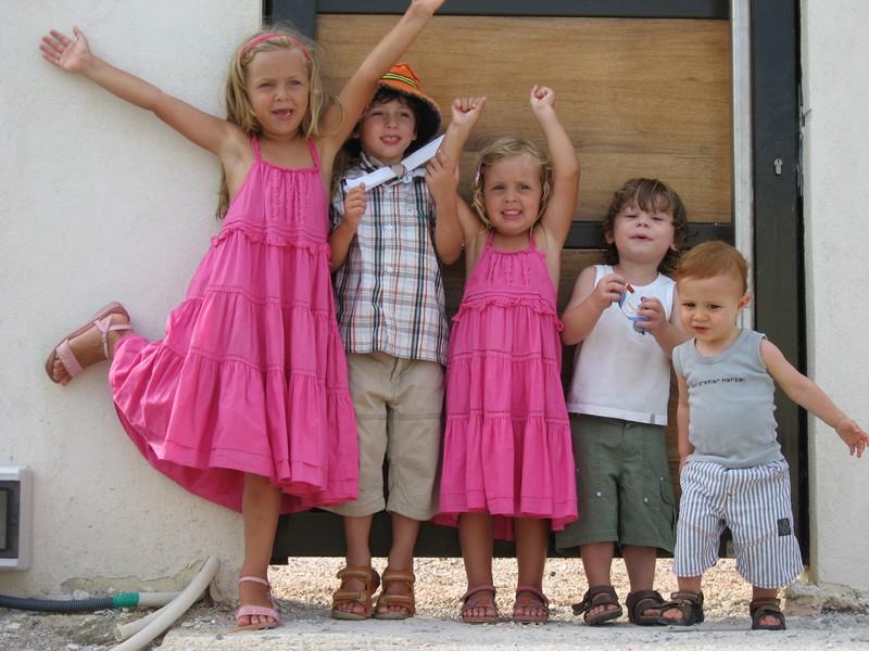 vacances cool avec plein d'enfants
