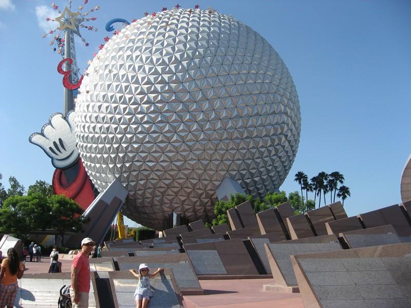 Epcot Center, Disneyworld Orlando