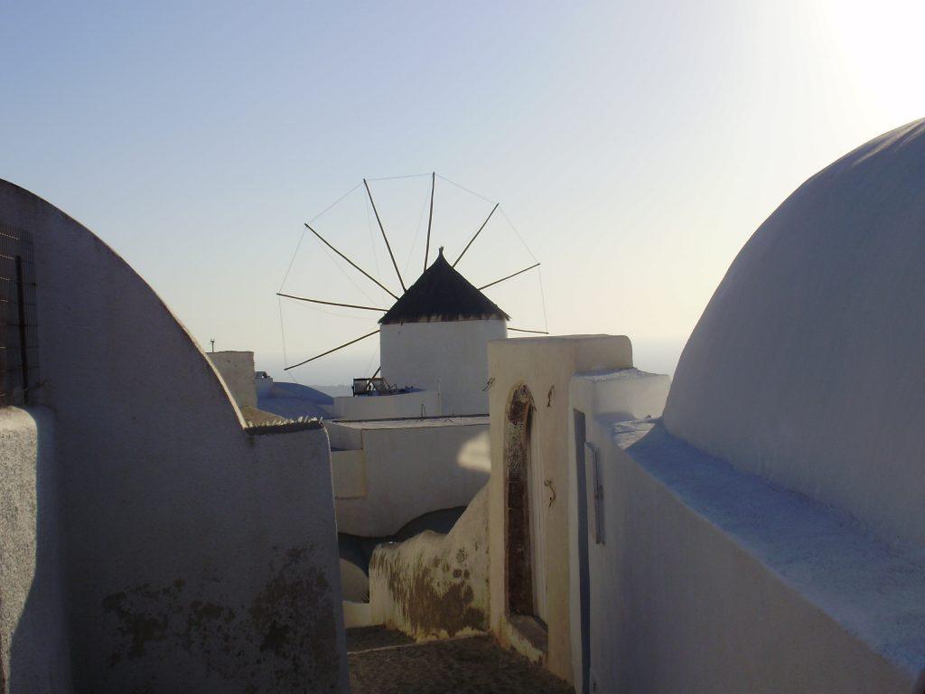 Vacances à Santorin