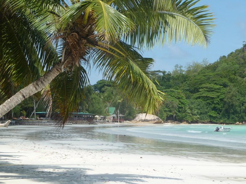 Plage Grande Anse, Praslin, Seychelles