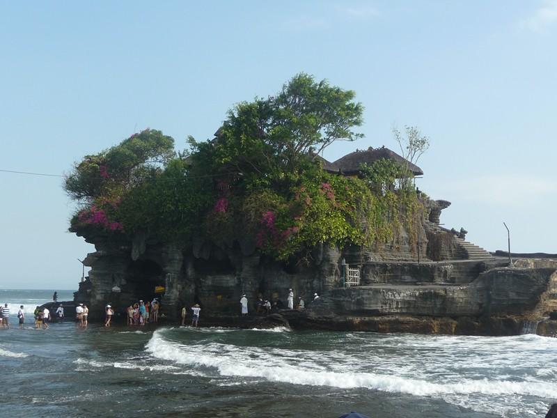 Bali en famille - Temple de Tanah Lot