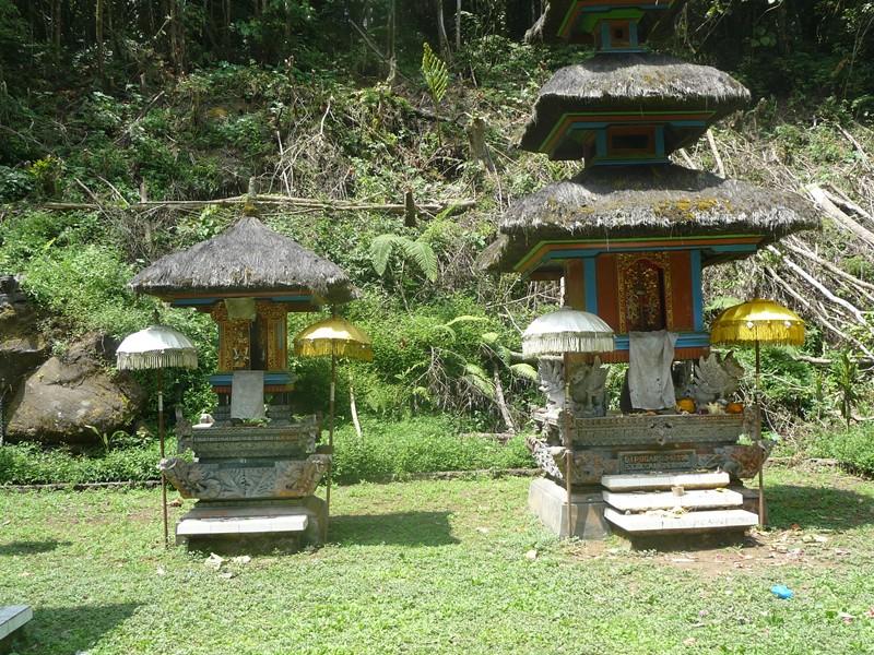 Bali en famille - lac Tamblingan