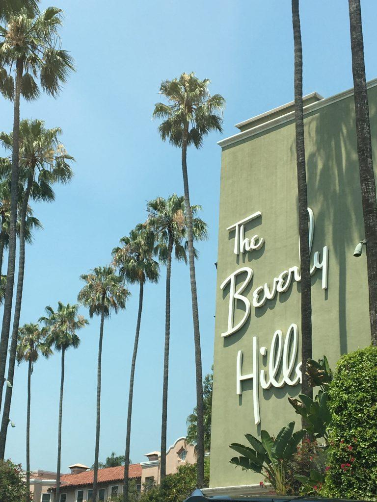 Bervely Hills - road trip en Californie en famille
