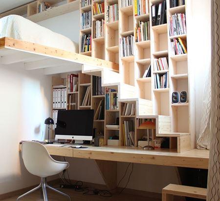 10 idées pour aménager un studio ou un petit 2 pièces