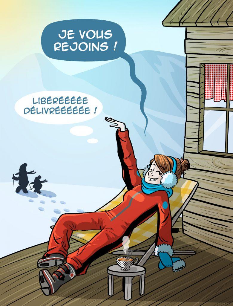 Vacances au ski, du rêve à la réalité...