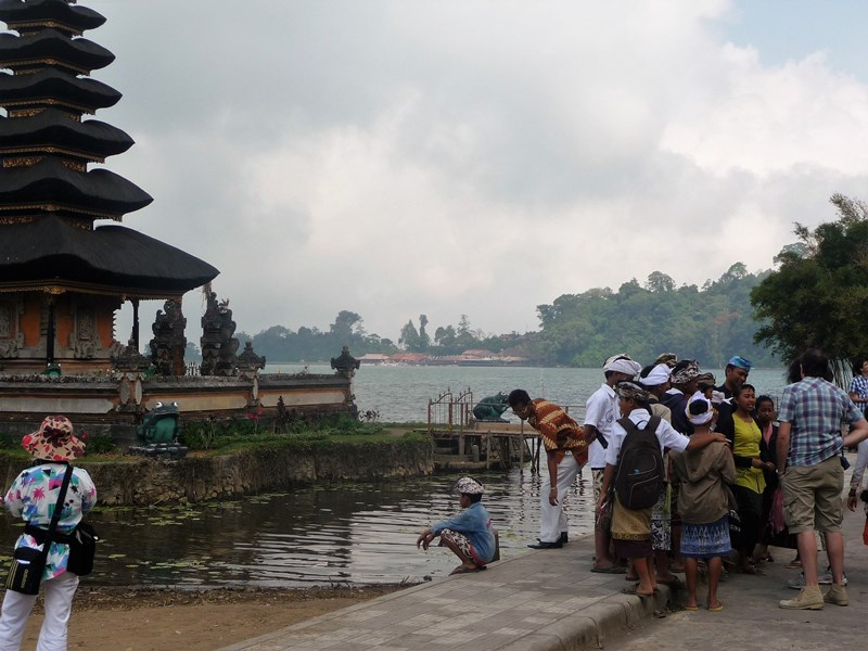 Bali en famille - lac Bratan