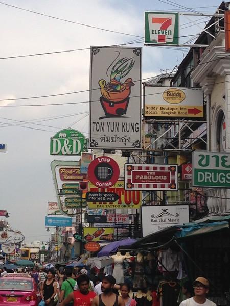 Bangkok avec des enfants