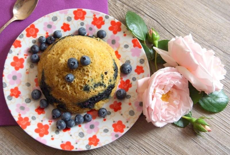 Bowl cake myrtille