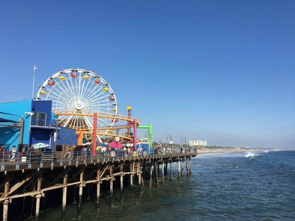 jetée de Santa Monica - Road trip en Californie en famille