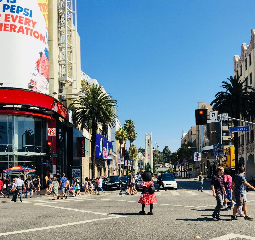 Hollywood Boulevard - Voyage en Californie en famille