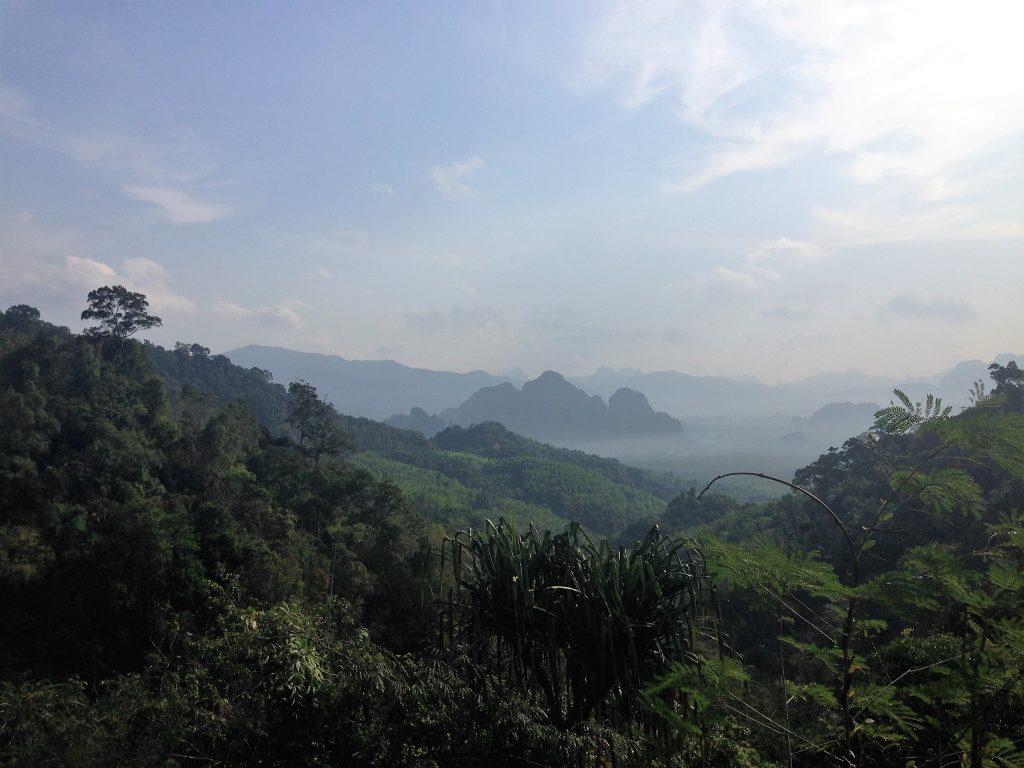 Excursion au lac Cheow Lan dans le parc national de Khao Sok