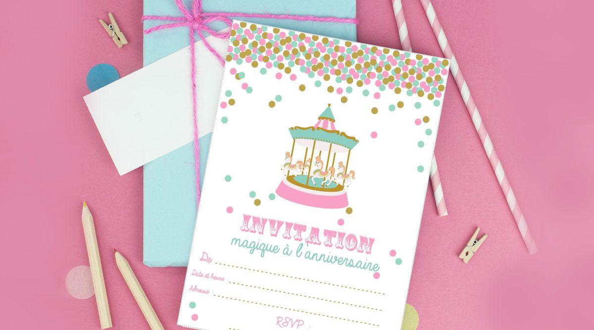 Des Invitations D Anniversaire D Enfants Dignes De Ce Nom Femmes Debordees