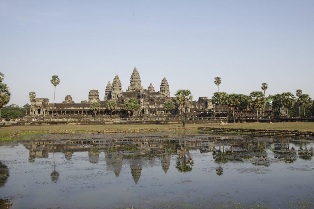 Angkor en famille