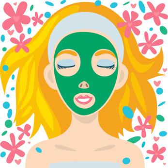 Spa et masque de beauté pour l'anniv d'une ado fille