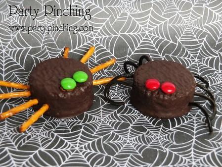 araignees Oréo halloween