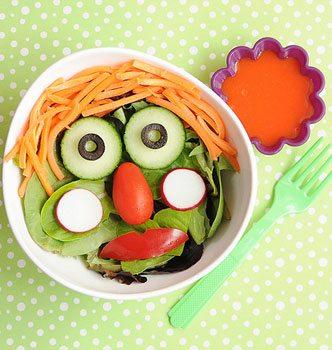 une rubrique pleine d'idées de repas simples pour les enfants