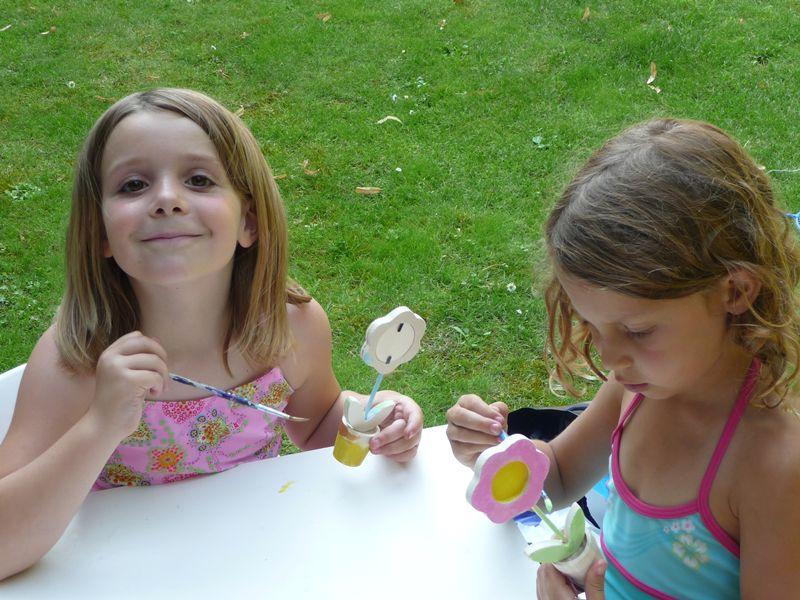 ateliers manuelles pour occuper les enfants pendant un anniversaire