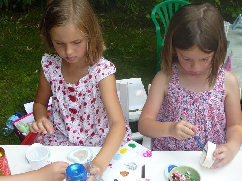 atelier manuel pour un anniversaire de 7 ans à 9 ans