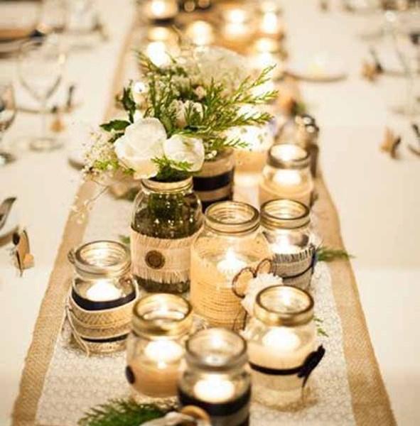 Plein d'idées pour une table de Noël féerique