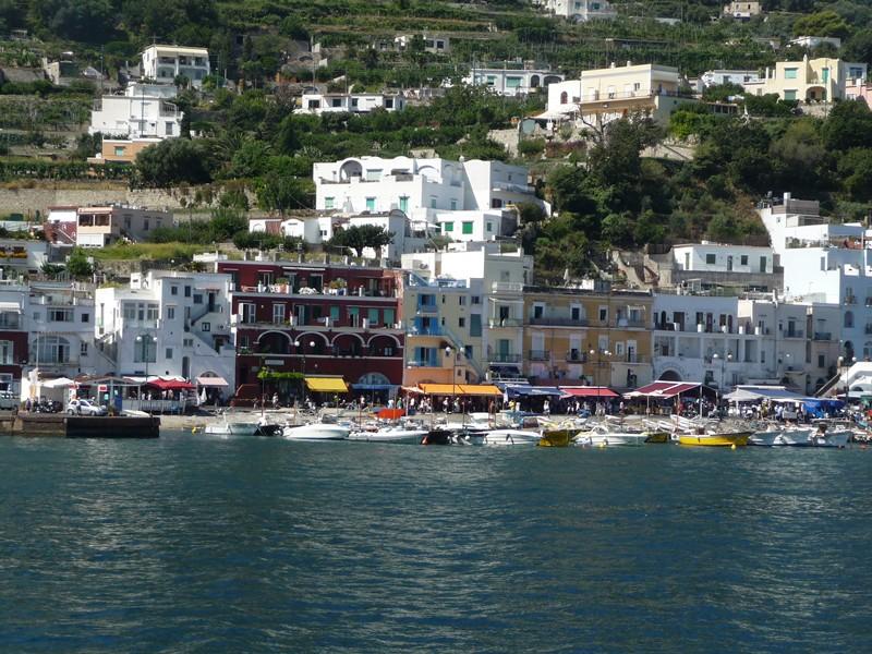 Capri- la côte amalfitaine avec des enfants