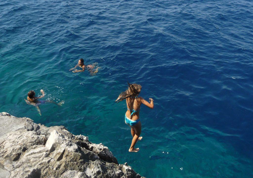 Capri - la côte amalfitaine avec des enfants