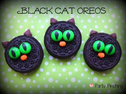 chat noir Oreo Halloween