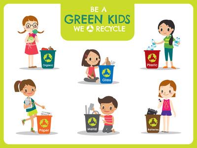 Apprendre à son enfant à devenir écolo en triant ses déchets