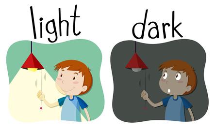 Apprendre à son enfant à devenir écolo: éteindre la lumière quand il quitte une pièce