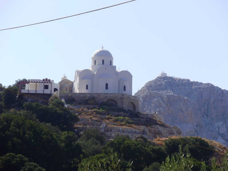 Naxos Cyclades en famille