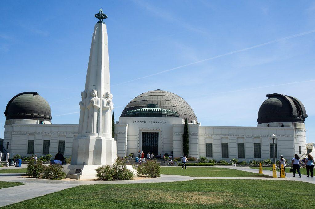 Griffith Observatory - Observatoire du Griffith Park - vacances en californie en famille