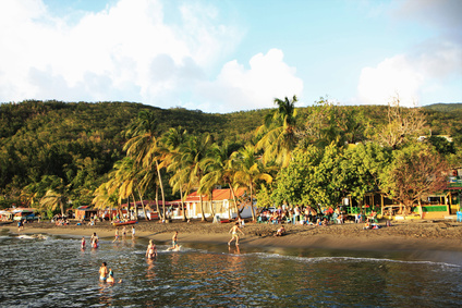 Guadeloupe plage de Malendure
