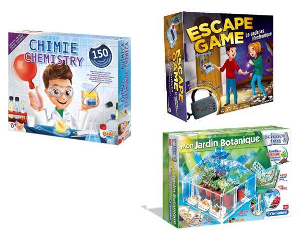 Des jeux pour faire réfléchir nos enfants