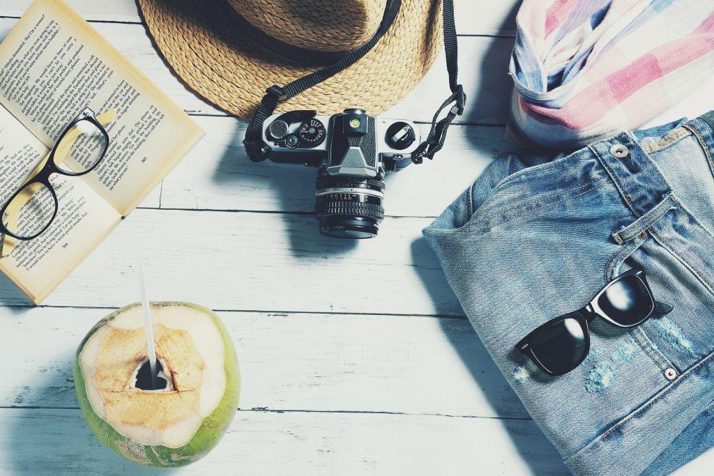 Les incontournables dans ma valises en vacances en été