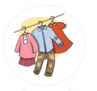comment ranger vêtements enfants
