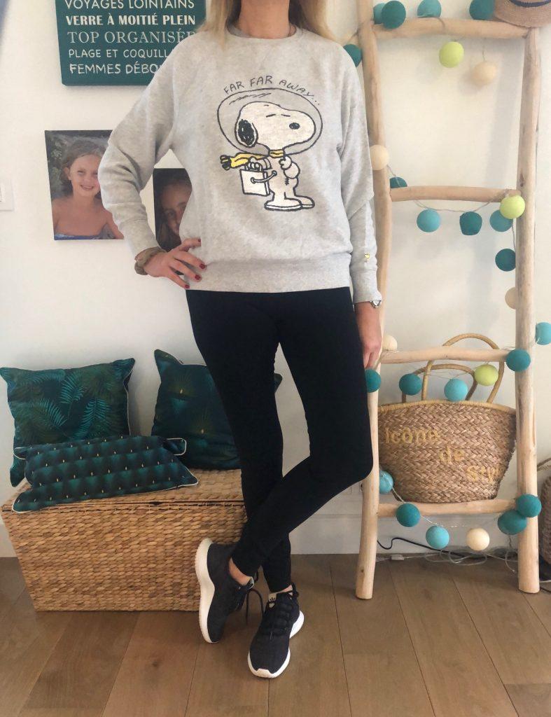 sweat et legging - look Femmes Débordées