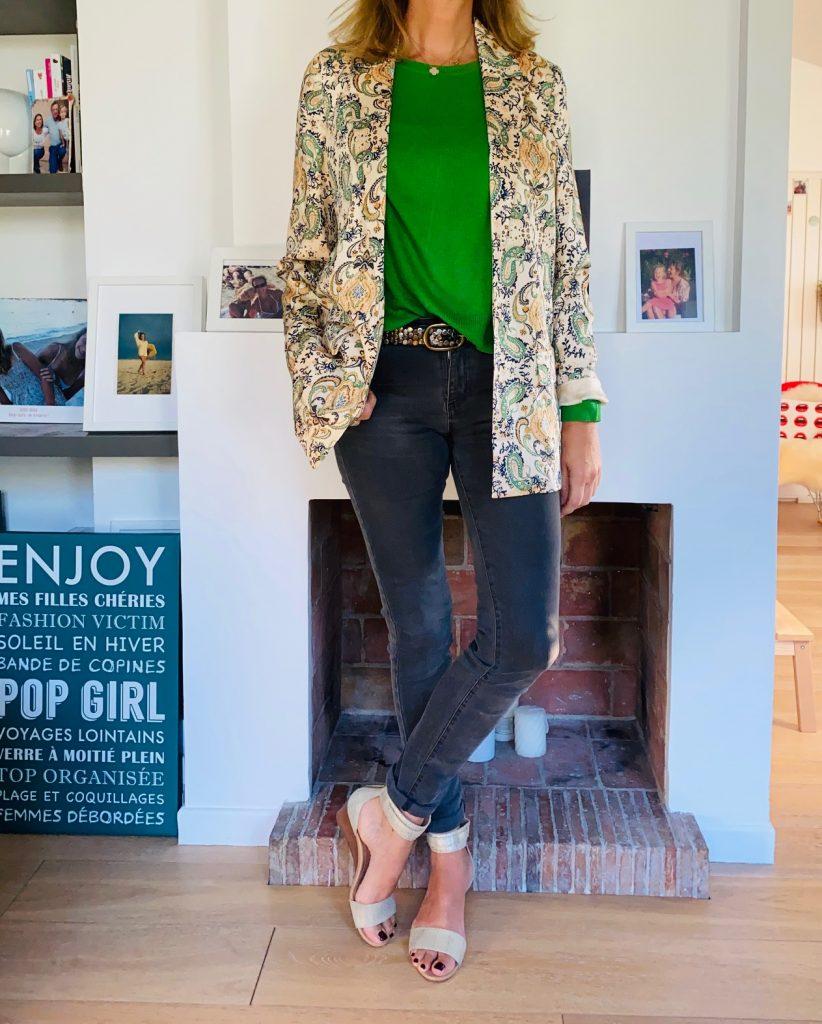 Green attitude - look Femmes débordées