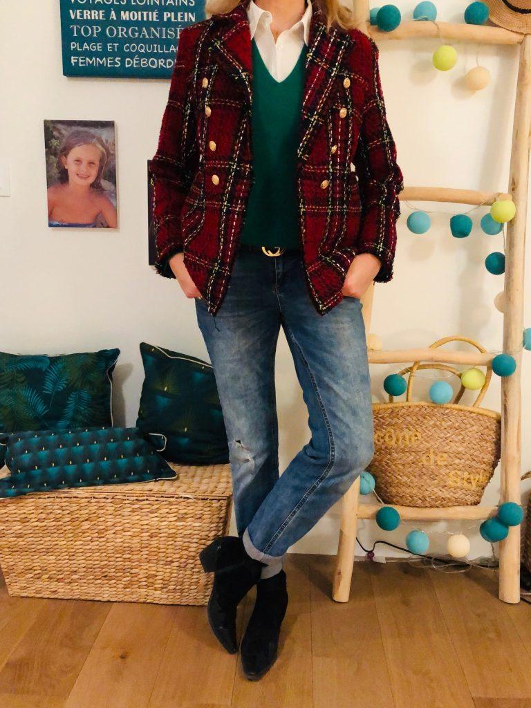 British look - look Femmes Débordées