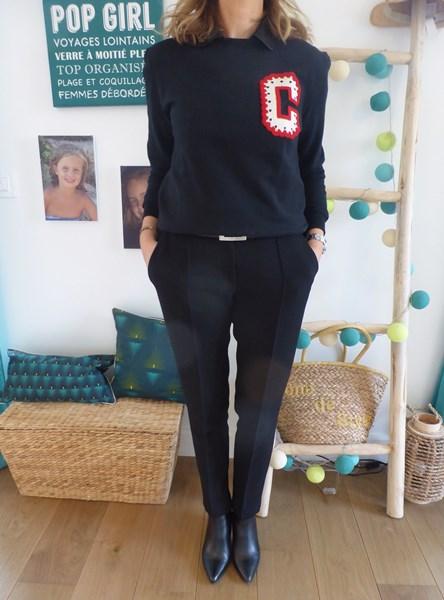 Comment twister son pantalon noir