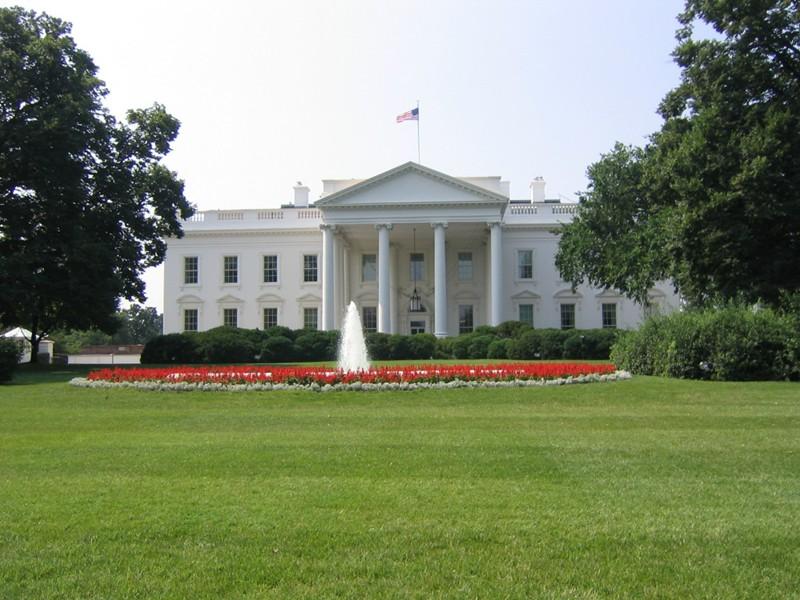 chasse aux oeufs de Pâques à la Maison Blanche