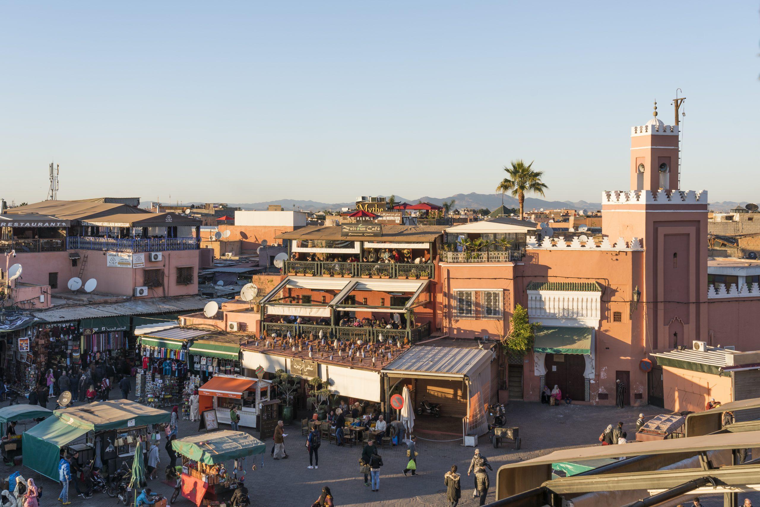 Les 10 incontournables à faire à Marrakech