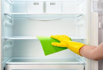 nettoyage du frigo