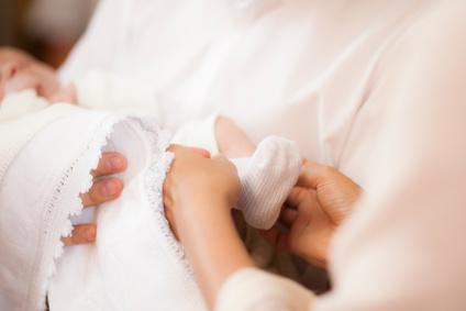 J'organise le baptême de mon bébé