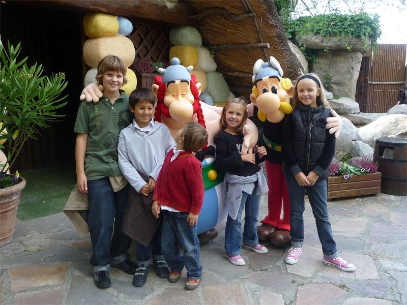 Parc d'attraction autour de Paris, le Parc Astérix
