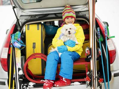 partir au ski en voiture sans mésaventure