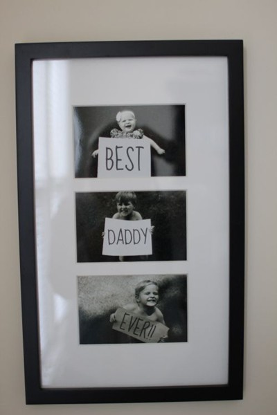 cadeau fête des pères photo-best-daddy-ever