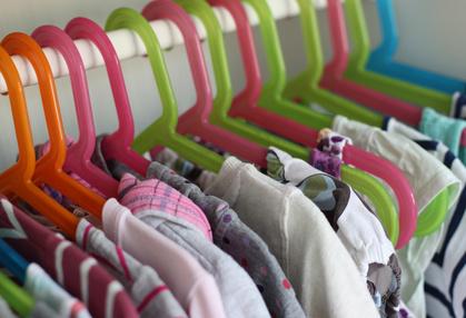 ranger vêtements enfant par look