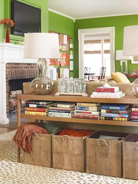 salon-organisé - En finir avec le bazar dans sa maison