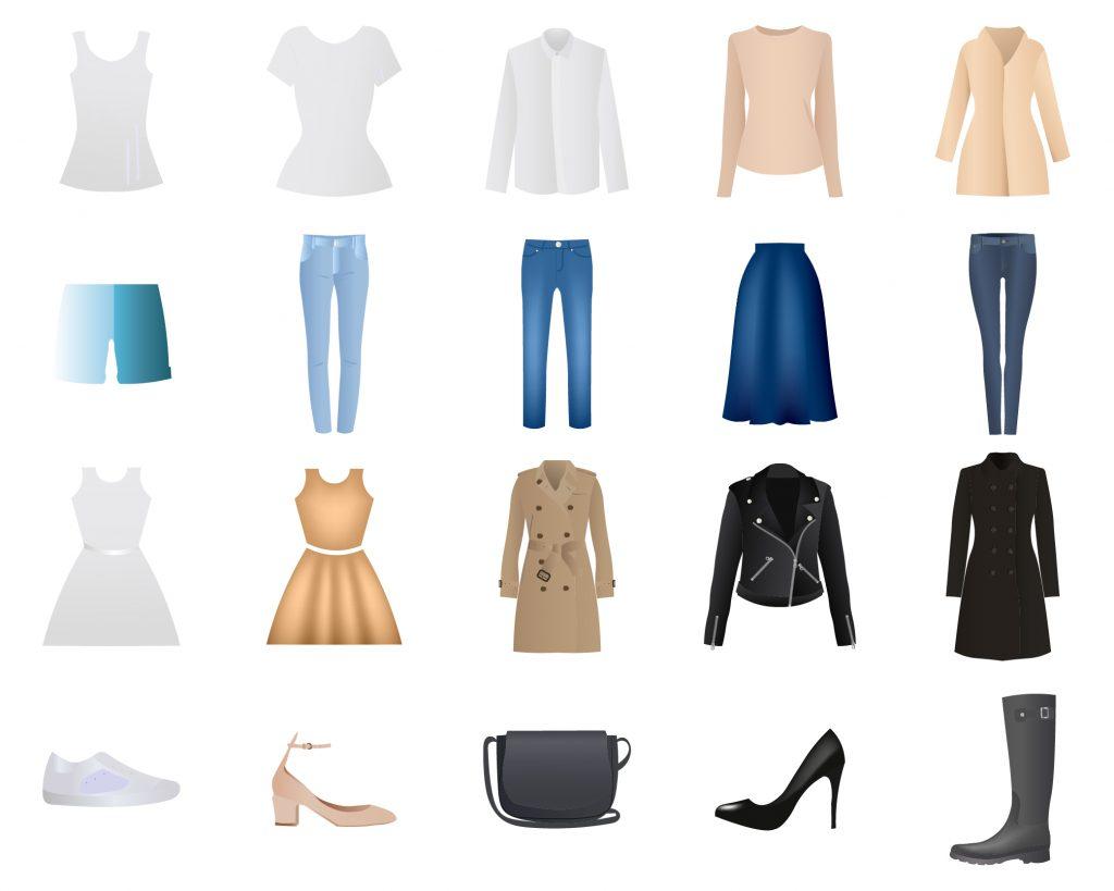 Les 15 incontournables de sa garde-robe