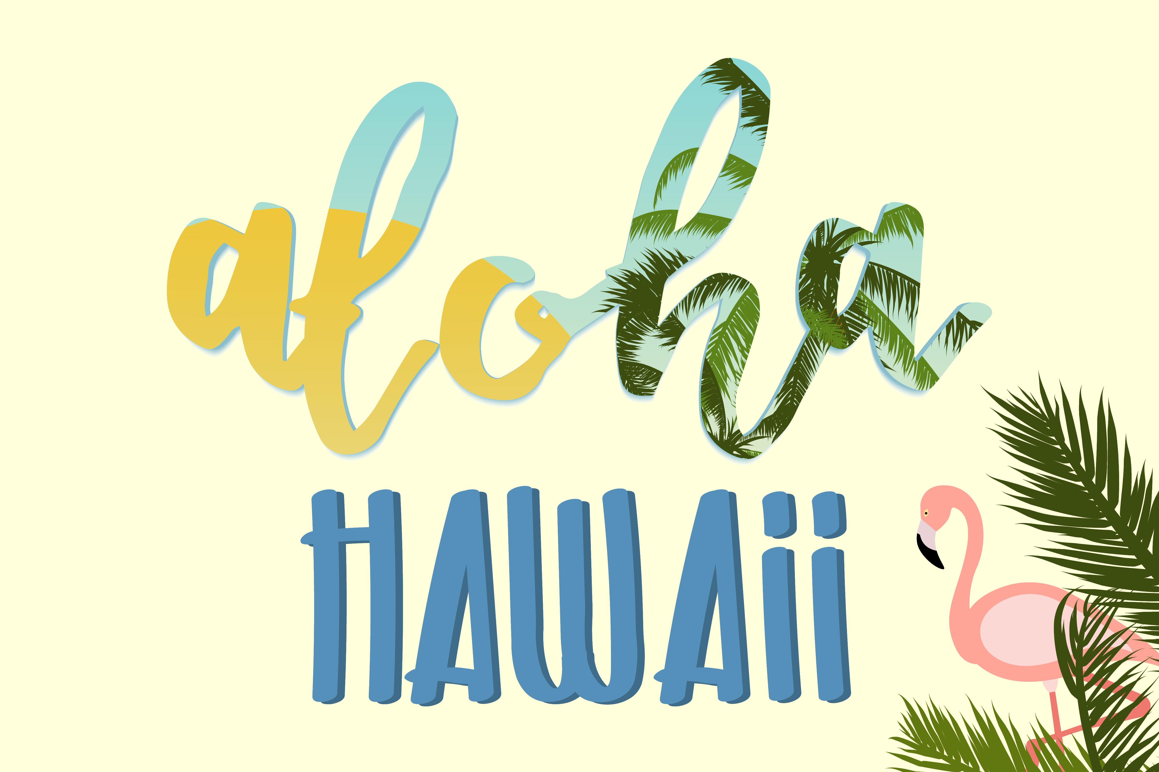 Anniversaire Hawaï