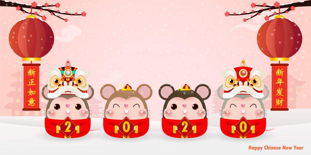 Année du rat - nouvel an chinois